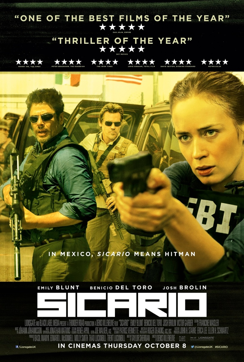 Sicario movie review