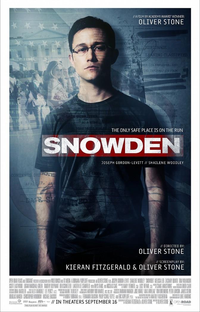 Snowden trailer review