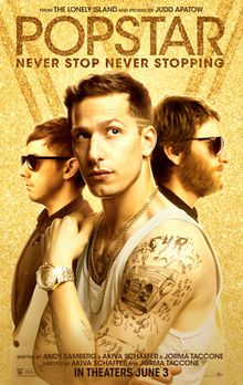 Popstar: Never Stop Never Stopping movie review