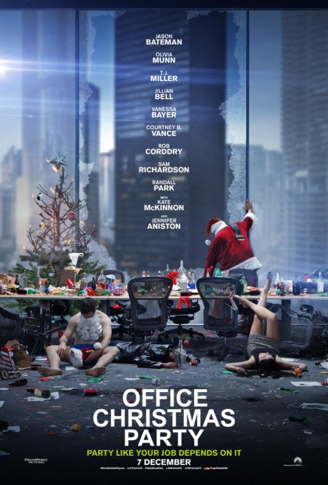Office Christmas Party trailer review