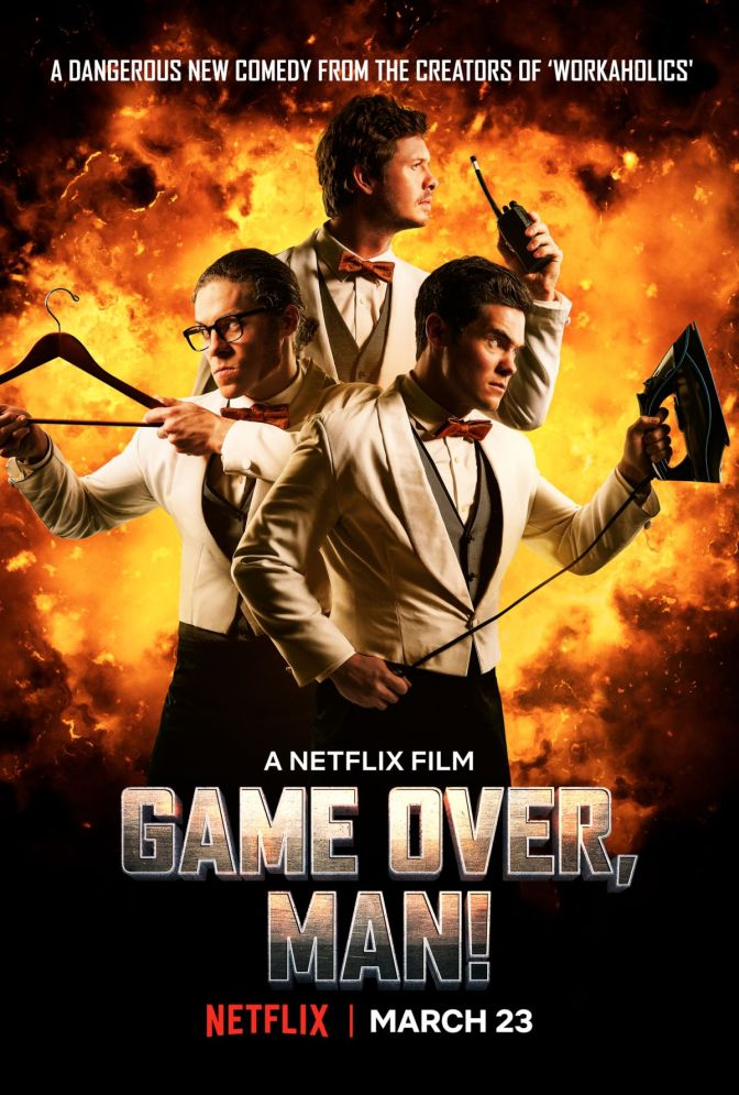 Game Over, Man trailer review