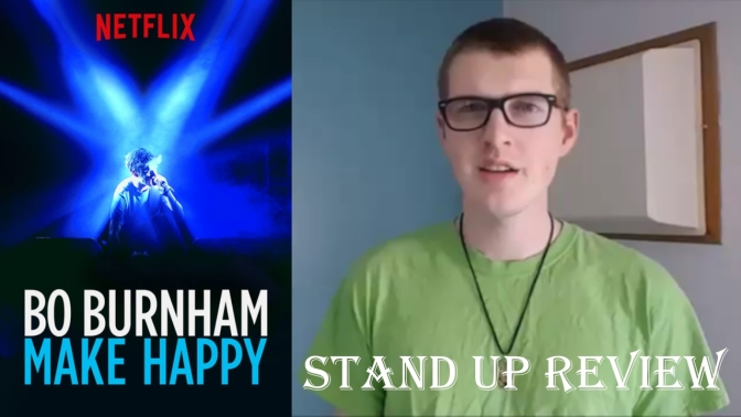 Bo Burnham: Make Happy stand up review